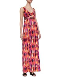 Trina Turk Margery Printed Maxi Dress - Lyst