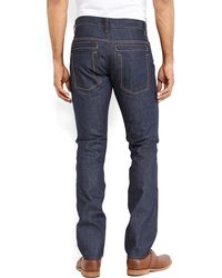 Williamsburg Garment Company - Dark Wash Grand Street Jeans - Lyst