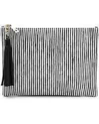 Lauren Merkin - Lauren Merkin Handbags - White/Black - Lyst