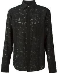 Damir Doma 'Scarpo' Shirt black - Lyst