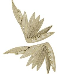 Rosantica Apache Set Of Two Golddipped Pearl Hair Slides - Lyst