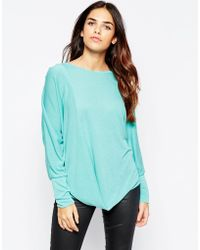 Wal-G - Top With Drape Front - Lyst