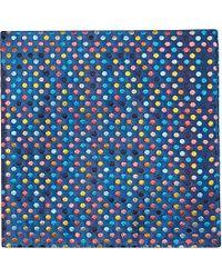 Duchamp Spot-Print Pocket Square - For Men - Lyst