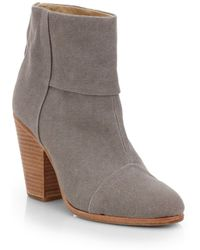 Rag & Bone Classic Newbury Nubuck Leather Ankle Boots - Lyst