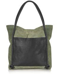 Topshop   Leather Knot Shopper Bag   Lyst