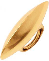 Oscar de la Renta Disk Ring Disk Ring - Lyst