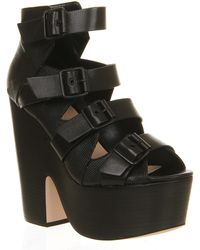 Office Shocker Chunky Buckle - Lyst