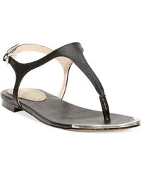 Charles By Charles David Basque Thong Sandals - Lyst
