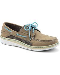 Sperry Top-sider Billfish Ultralite 3 Nubuck Leather Boat Shoes - Lyst
