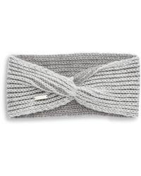 Calvin Klein - Metallic Knit Headband - Lyst