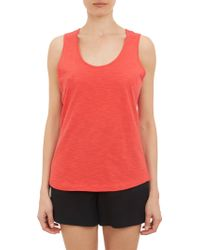 Barneys New York Slub Knit Tank - Lyst
