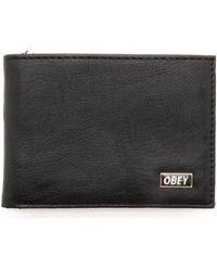 Obey Drexel Bifold Wallet - Lyst
