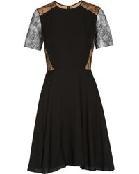 Jason Wu Silk and Lace Dress - Lyst