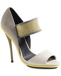 L.A.M.B. 'Barrie' Sandal gray - Lyst