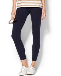 Three Dots B Seamed Leggings - Lyst