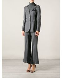Moschino - Stitch Detail Panelled Suit - Lyst