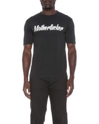 DSquared2 Motherfucker Cotton Tee - Lyst
