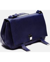 Proenza Schouler   Pebbled Leather Ps Courier   Lyst