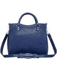 Balenciaga Giant 12 Nickel Velo Bag Bleu Mineral - Lyst