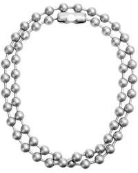Mm6 By Maison Martin Margiela Necklace - Lyst