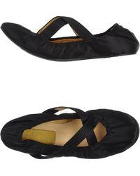 Lanvin Ballet Flats black - Lyst