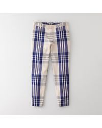 Steven Alan Danny Glen Plaid Pant - Lyst