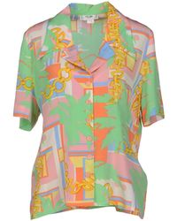Celine Pink Shirt - Lyst