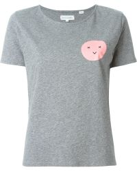 Chinti & Parker | Face Print T-shirt | Lyst