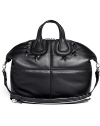 Givenchy - 'nightingale' Star Embossed Leather Bag - Lyst