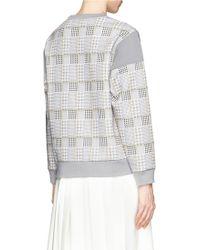 Helen Lee - Rabbit Houndstooth Print Pullover - Lyst