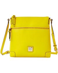 Dooney & Bourke Saffiano Leather Crossbody Bag - Lyst