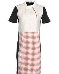 Costume National Short Dress multicolor - Lyst
