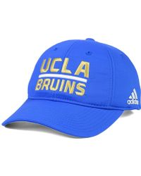 new style 9c8e0 89462 ... low price adidas originals ucla bruins travel adjustable slouch cap lyst  482c2 9fa48