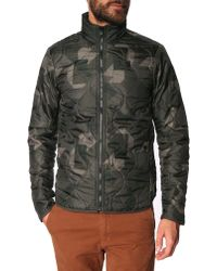G-Star RAW Nolker Camouflage Thin Padded Jacket - Lyst