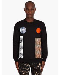 Raf Simons Sterling Ruby Mens Cave Print Sweatshirt - Lyst