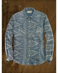 Denim & Supply Ralph Lauren Jacquard-knit Western Shirt - Lyst