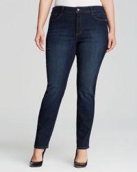 Nydj Plus Sheri Skinny Jeans - Lyst