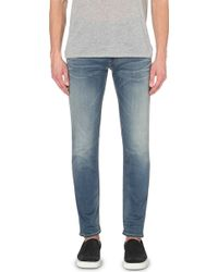 Replay Slim Tapered Jeans - For Men - Lyst