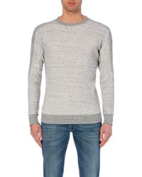 Diesel S-Erastos Cotton-Jersey Sweatshirt - For Men - Lyst