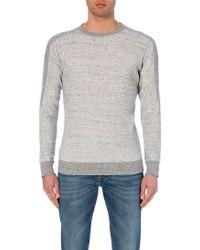Diesel S-Erastos Cotton-Jersey Sweatshirt - For Men gray - Lyst