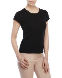 Ply Cashmere - Short Sleeve Cashmere Sweater - Lyst