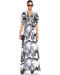 Issa Pollyanna Light Georgette Dress - Lyst