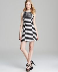 Mink Pink Dress Monochrome Pop Stripe - Lyst
