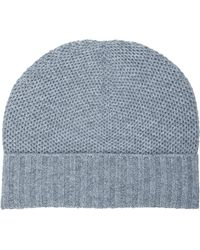 Barneys New York Honeycomb-knit Hat - Lyst