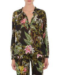 Etoile Isabel Marant Floral Voile Wescott Shirt - Lyst