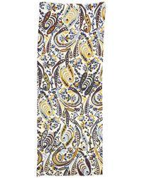 Marina Rinaldi | Ikat-print Wool Scarf | Lyst