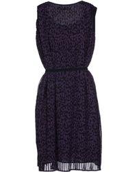 Karl by Karl Lagerfeld - Short Dress - Lyst