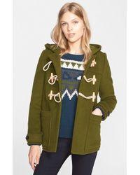 Burberry Brit - 'portstead' Hooded Duffle Coat - Lyst