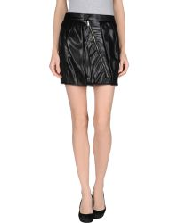 Gucci B Mini Skirt - Lyst