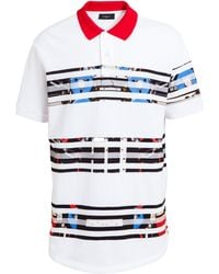 Givenchy Robot Striped Oversized Polo Shirt - Lyst